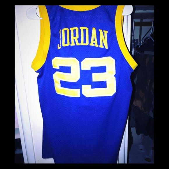 huge selection of 4df62 8a0bc Jordan Other - Michael Jordan Laney high school jersey